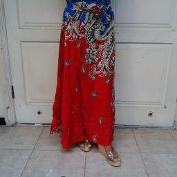 BR07117 - ROK SARI ALA INDIA RED