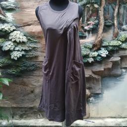 BR07903 - DRESS DARK GREY