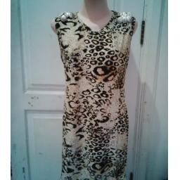 BR07940 - MINI DRESS LEOPARD VARIASI