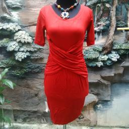 BR08091 - MINI DRESS AGNES RED