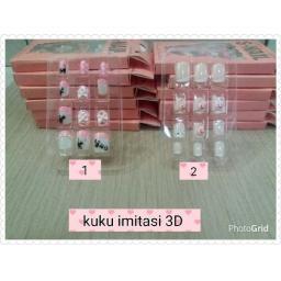 BR08468 - KUKU IMITASI 3D - NO.1