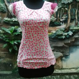 BR09866 - SALE BLOUSE CHERRY PINK
