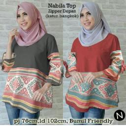 BR12001-2 - 6170 NABILA TOP - merah