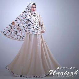 BR12563 - SYARI UNAISAH BROWN 2IN1