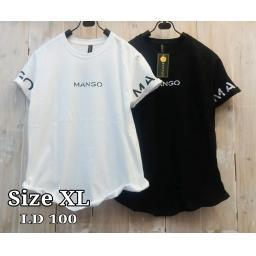BR16878-1 - MANGO TSHIRT TUMBLR TEE SIZE XL - putih