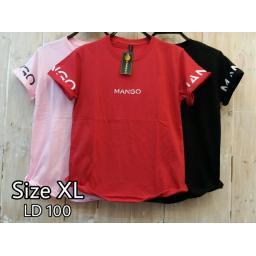 BR17797-1 - MANGO TSHIRT TUMBLR TEE SIZE XL - pink