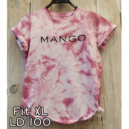 BR19640 - KAOS TIE DYE MANGO MAROON SIZE XL