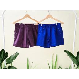 BR19873-1 - HOT PANTS SIMPLE ME - purple