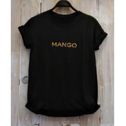 BR20594 - MANGO HITAM TSHIRT TUMBLR TEE