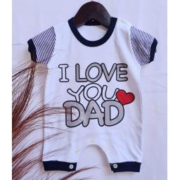 BR21018 - JUMPER BAYI I LOVE DAD HITAM