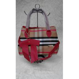BR07742 - TAS BURBERRY RED