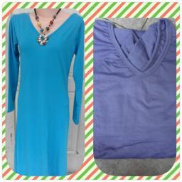 BR07966-1 - LONG DRESS ARUMI - blue
